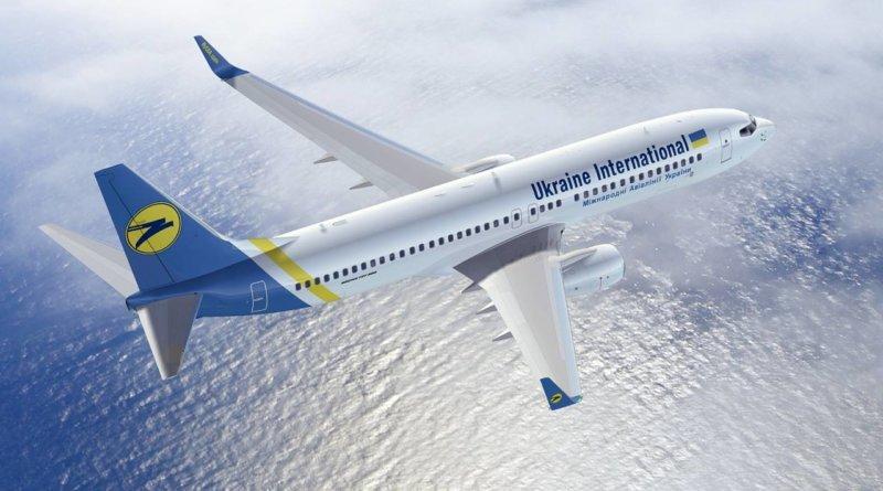 Ukraine International Airlines Boeing 737-800 NG