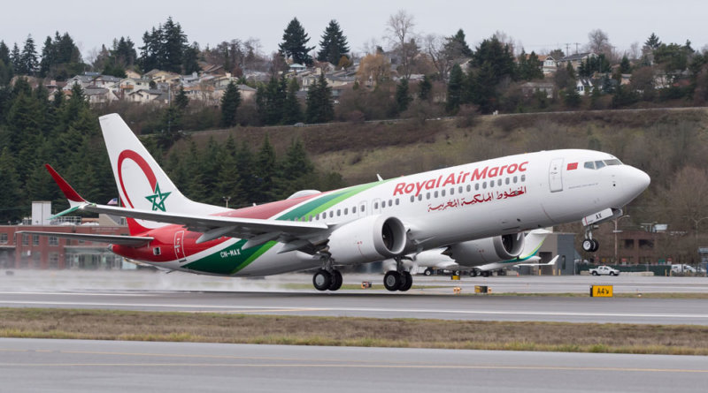 Royal Air Maroc Boeing 737 MAX 8