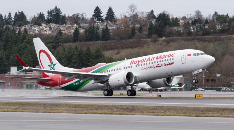 Royal Air Maroc Boeing 737 MAX 8