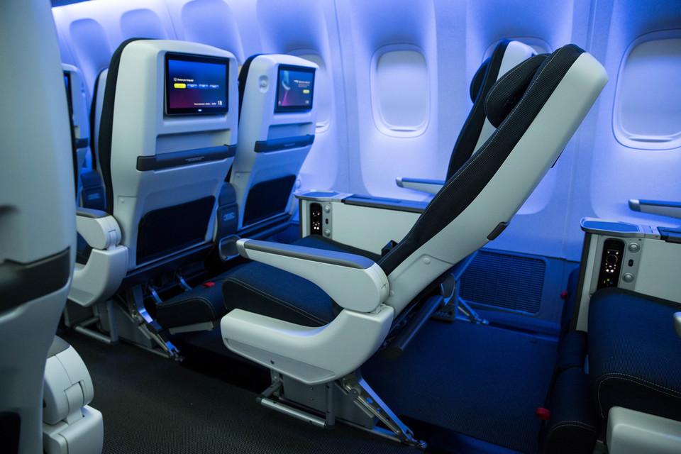 Current British Airways World Traveller Plus seats