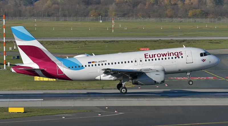Eurowings Airbus A319-132 D-AGWY @ Düsseldorf Airport