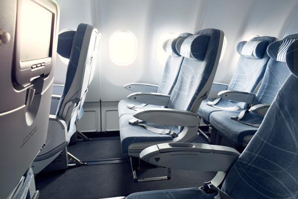 Finnair Economy comfort seat - Photo by Finnair